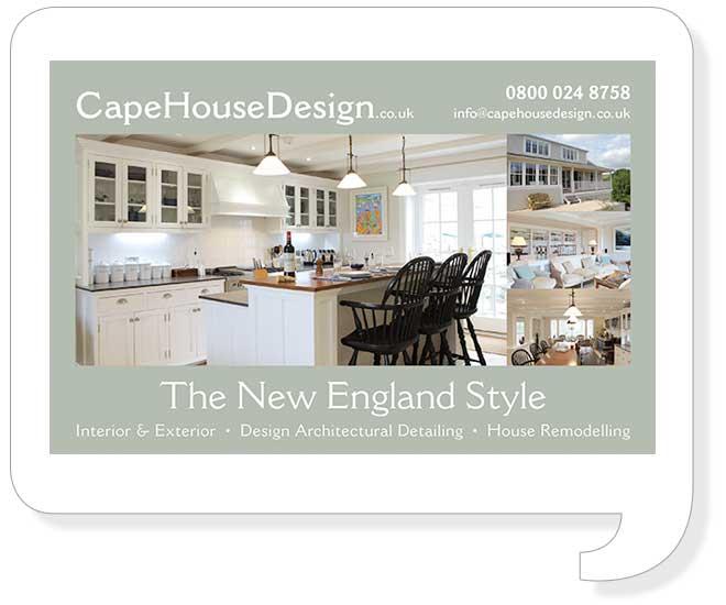 Cape House Design Ad Style