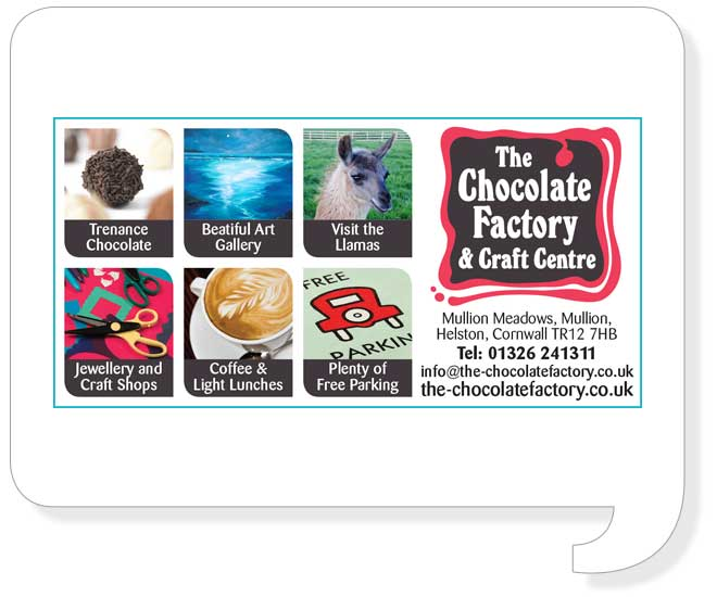 Chocolate Factory Ad Style Design