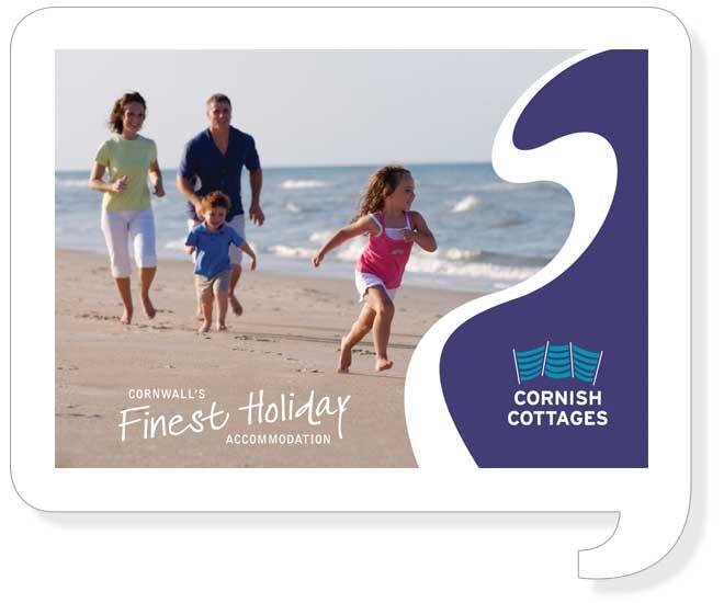 Cornish Cottages Brochure Design