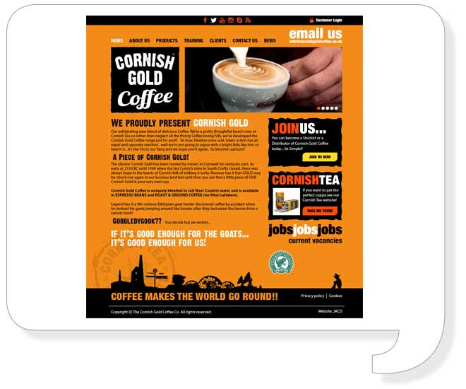cornish-gold-website-design