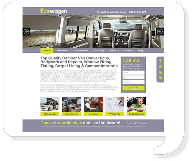 Eco Wagon Website