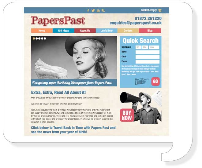 papers-past-website-design