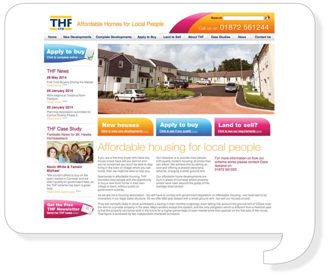 thf-website-design