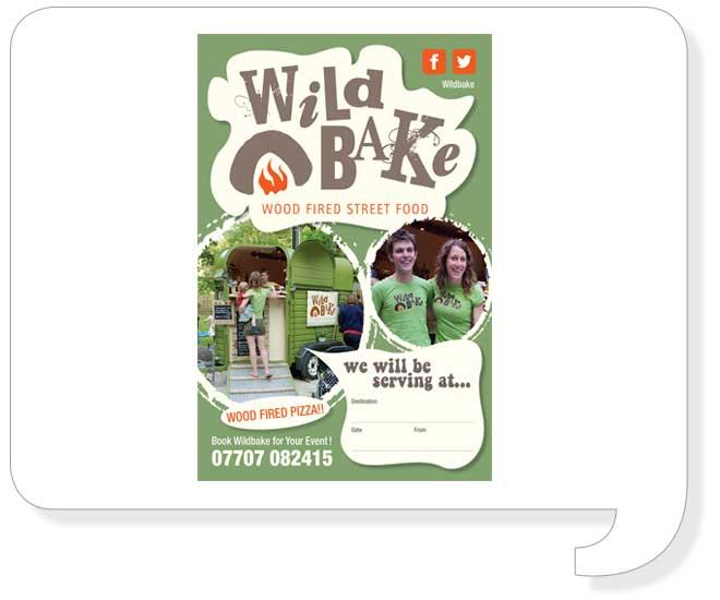 Wildbake Flyer Design
